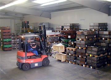 2. Halle<br /><br />Übergabe <br />Juli 2002<br /><br />Hauptnutzung: Warenannahme und Versand