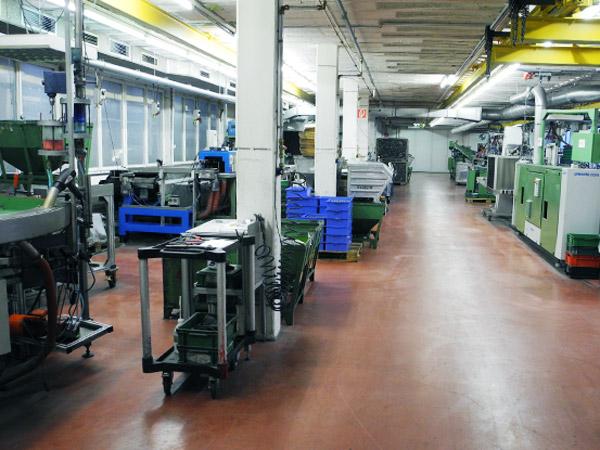 Produktionsbereich vollautomatisierte Mikroverkapselung