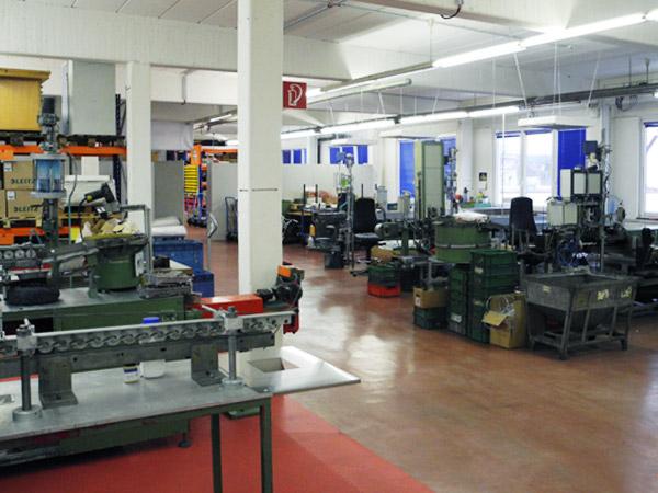 Produktionsbereich halbautomatische Mikroverkapselung