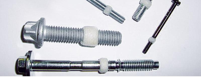 Halteringe sind aus flüssigem Plastisol hergestellt, welche auf dem Gewinde  oder anderen Konturen fest verbunden sind (glatte Flächen ungeeignet).